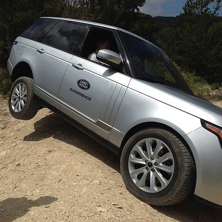 Advanced Degrees: Land Rover Driving School 05/18/14