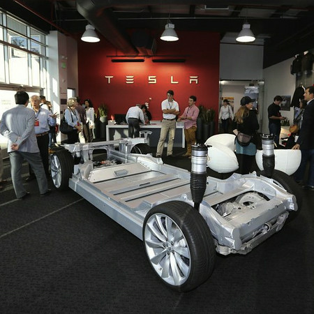 Tesla Factory Tour & VIP Reception 08/19/14
